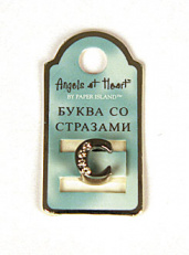 "Буква ""Angels at Heart"" - C"