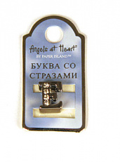 "Буква ""Angels at Heart"" - E"