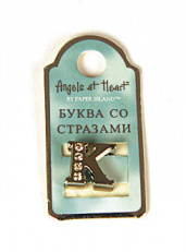 "Буква ""Angels at Heart"" - K"